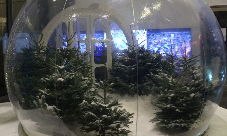 photomaton dans une bulle animation